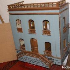 Casas de Muñecas: FANTÁSTICA CASA DE MUÑECAS S. XX. Lote 173900713