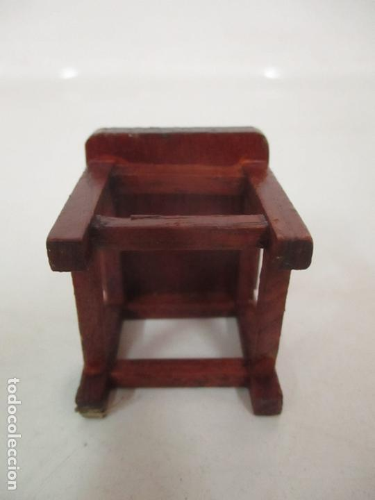 Casas de Muñecas: Mesa de Comedor y 6 Sillas Miniatura - Madera - Casa de Muñecas - Todo Tipo de Detalles - Foto 12 - 166299986