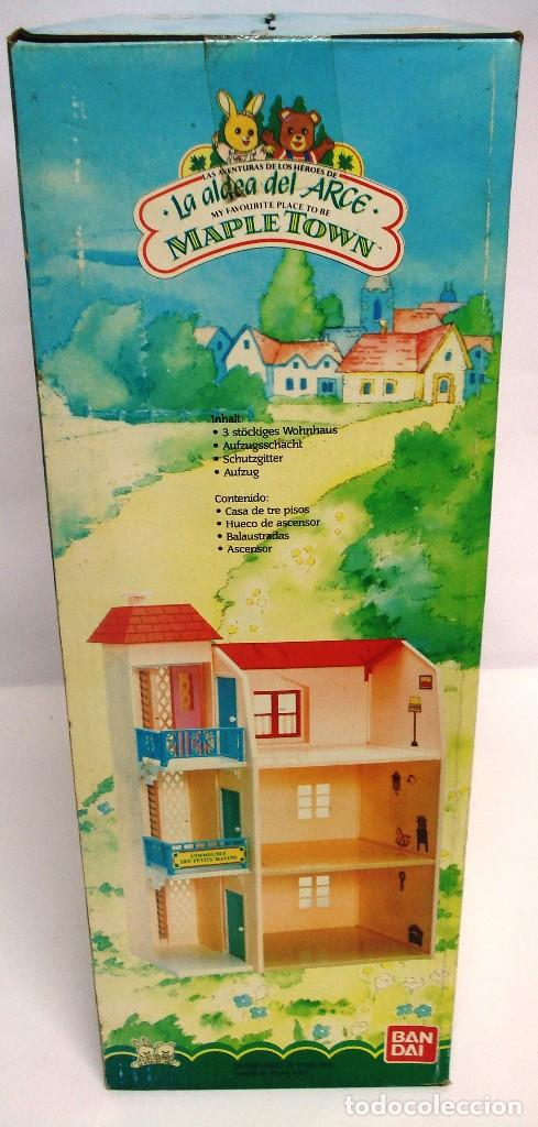 Casas de Muñecas: CASA DE LA LA ALDEA DEL ARCE CASA TRES PISOS CON ASCENSOR. DE BANDAI. AÑOS 80. ¡NUEVA.Y PRECINTADA! - Foto 5 - 167154924