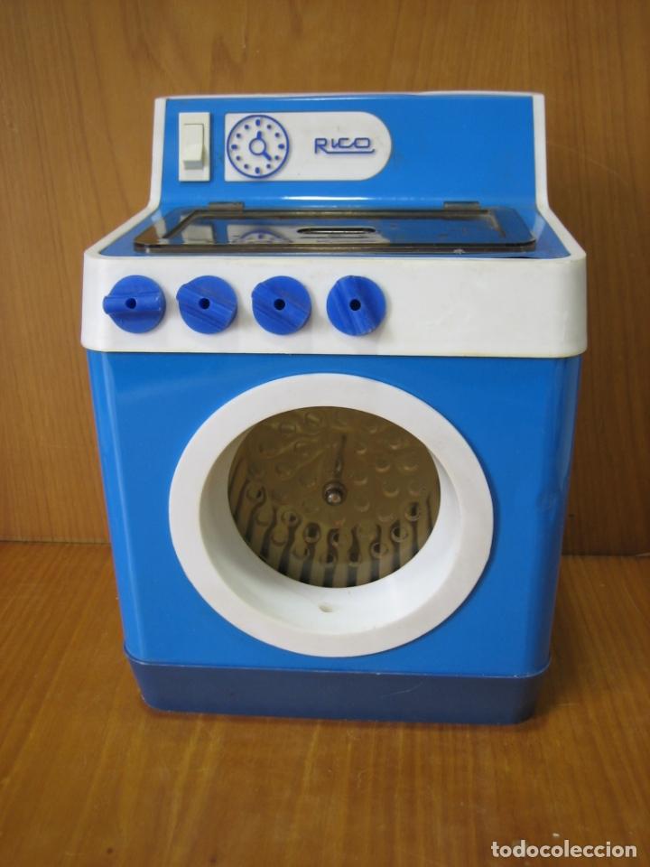Casas de Muñecas: Antigua lavadora a pilas de Rico - Foto 2 - 167641928
