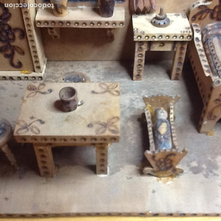 Casas de Muñecas: casita de muñecas muy antigua - Foto 3 - 168287904