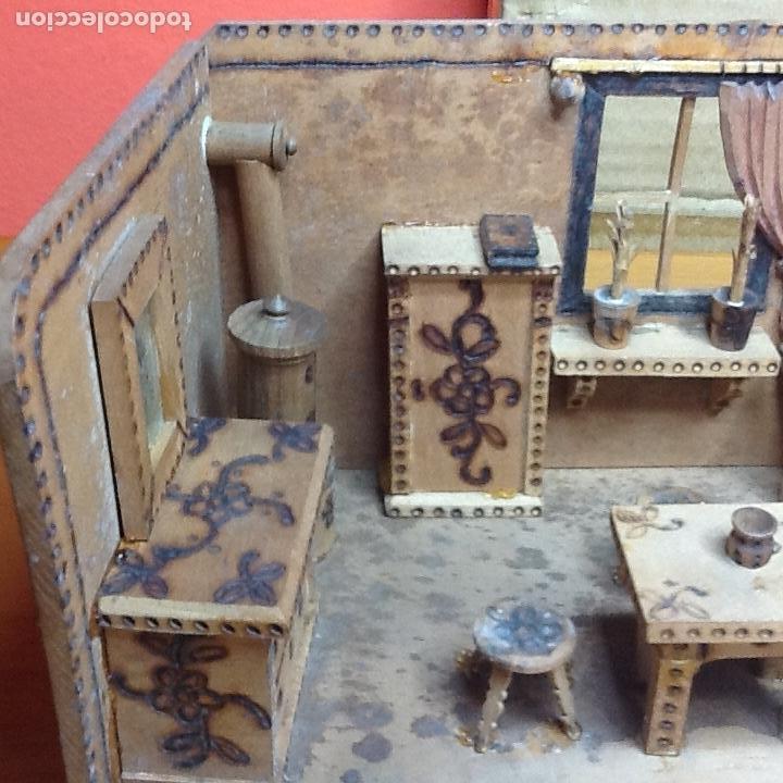 Casas de Muñecas: casita de muñecas muy antigua - Foto 5 - 168287904