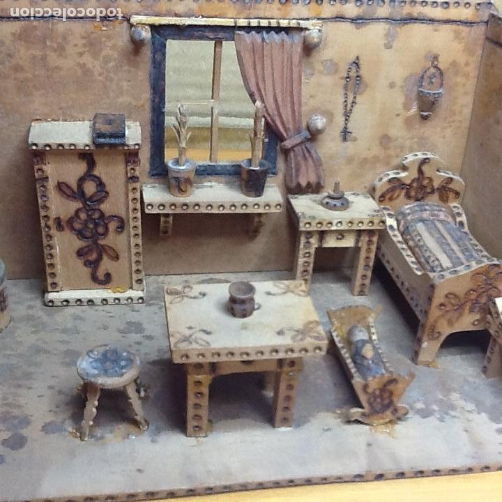 Casas de Muñecas: casita de muñecas muy antigua - Foto 6 - 168287904