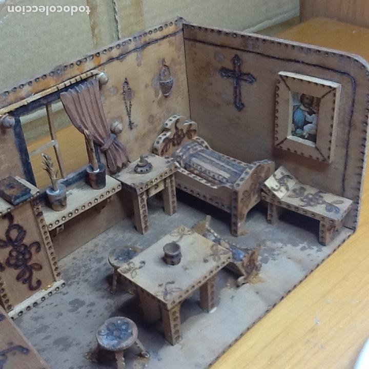 Casas de Muñecas: casita de muñecas muy antigua - Foto 9 - 168287904
