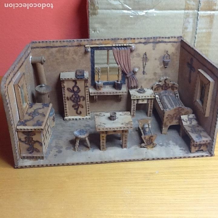 Casas de Muñecas: casita de muñecas muy antigua - Foto 10 - 168287904