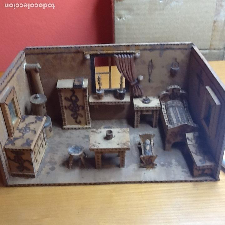 Casas de Muñecas: casita de muñecas muy antigua - Foto 11 - 168287904