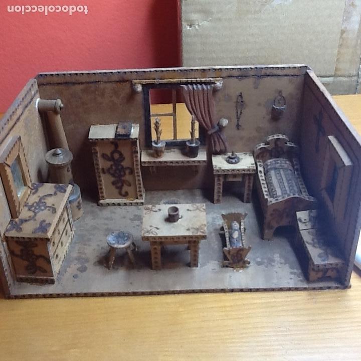 Casas de Muñecas: casita de muñecas muy antigua - Foto 12 - 168287904