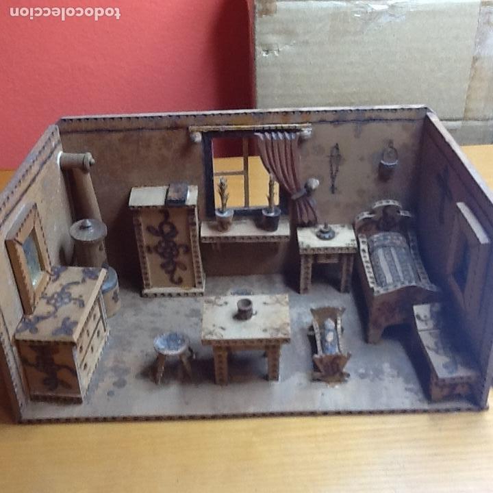 Casas de Muñecas: casita de muñecas muy antigua - Foto 13 - 168287904