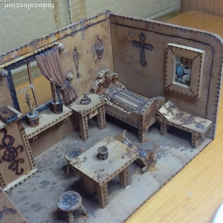 Casas de Muñecas: casita de muñecas muy antigua - Foto 14 - 168287904
