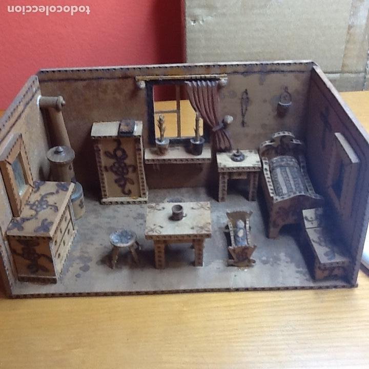 Casas de Muñecas: casita de muñecas muy antigua - Foto 15 - 168287904