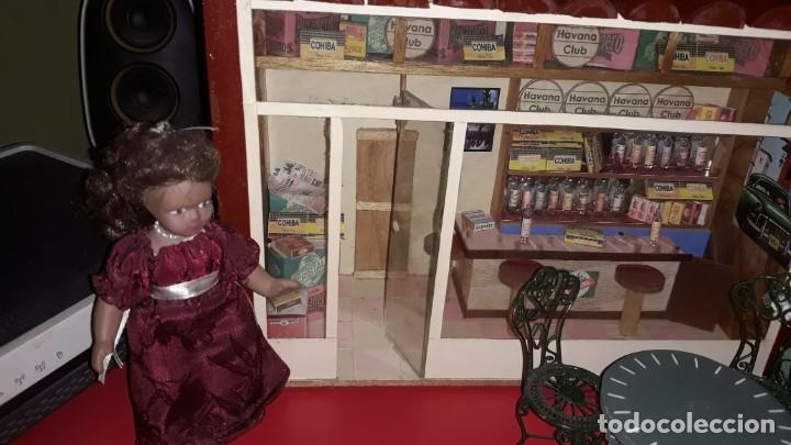 Casas de Muñecas: Diorama Artesanal de La Bodeguita del Medio de Cuba - Foto 3 - 171704823
