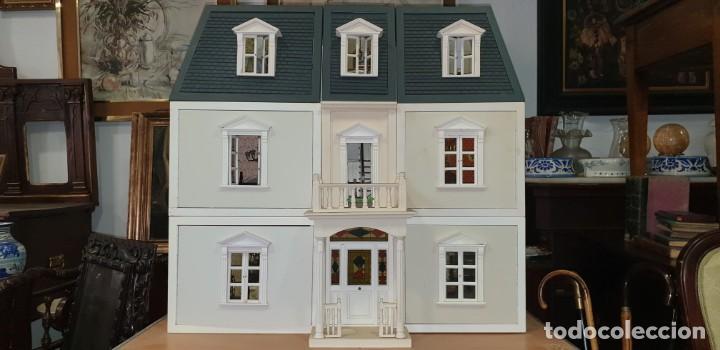 Gran Casa De Mu U00f1ecas Victoriana Completa Gran T
