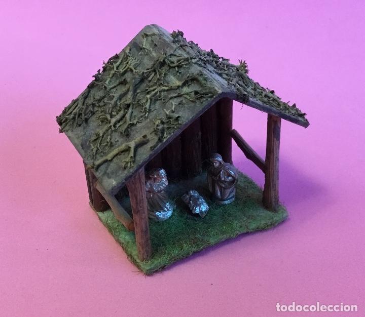 Casas de Muñecas: Nacimiento, portal Belén para casa de muñecas - Foto 2 - 173027538