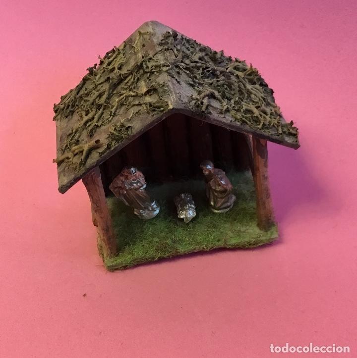 Casas de Muñecas: Nacimiento, portal Belén para casa de muñecas - Foto 4 - 173027538