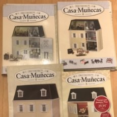 Casas de Muñecas: CREA Y DECORA TU CASA DE MUÑECAS COMPLETO 51 FASCÍCULO PORTADAS DOLLHOUSE COLLECTORS 1990. Lote 173535329