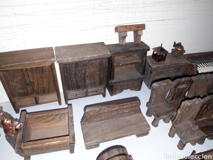 Casas de Muñecas: LOTE MUEBLES Y FIGURAS COLECCION BLANCANIEVES Y LOS SIETE ENANITOS CASA MUÑECAS DISNEY PLANETA - Foto 7 - 176067384