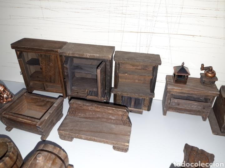 Casas de Muñecas: LOTE MUEBLES Y FIGURAS COLECCION BLANCANIEVES Y LOS SIETE ENANITOS CASA MUÑECAS DISNEY PLANETA - Foto 8 - 176067384