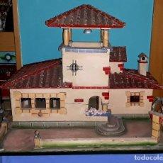 Casas de Muñecas: ESPECTACULAR CASA DE MUÑECAS LUCI DE DENIA DE MADERA INSTALACION ELECTRICA PIEZA UNICA AÑOS 50 . Lote 177625730