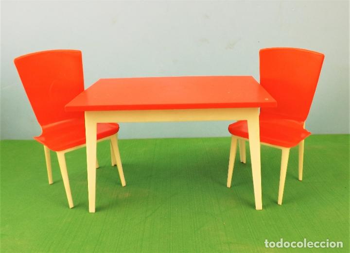 Casas de Muñecas: Hogarin mesa salon y sillas - Foto 2 - 177789345