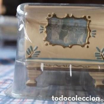 Casas de Muñecas: CAMA ESTILO ISABELINO EN MINIATURA - Foto 4 - 181620365