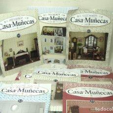 Casas de Muñecas: DOLLHOUSE CASA DE MUÑECAS- 39 ENTREGAS FASCICULOS+2 TAPAS NUEVAS-COLLECTORS-CREA Y DECORA VICTORIANA. Lote 181673677