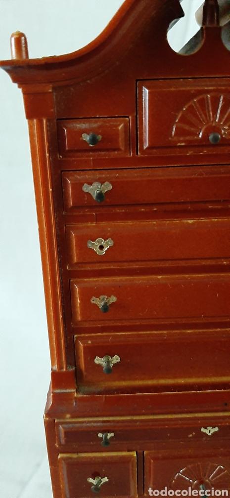 Casas de Muñecas: Mueble cajonera miniatura - Foto 3 - 182010135