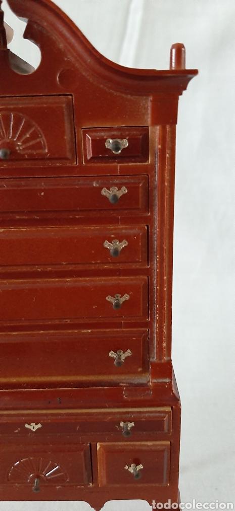 Casas de Muñecas: Mueble cajonera miniatura - Foto 4 - 182010135