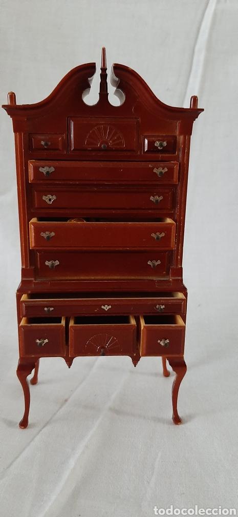 Casas de Muñecas: Mueble cajonera miniatura - Foto 6 - 182010135
