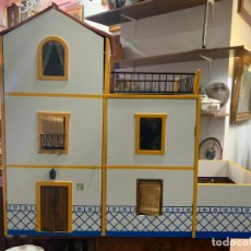 Casas de Muñecas: FANTÁSTICA CASA TÍPICA ANDALUZA EN MINIATURA - MEDIDA 69X81X32 - INCLUYE TODOS LOS COMPLEMENTOS. Lote 236359255
