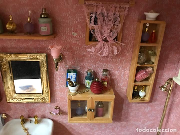 casa de muñecas cuarto de baño completo - Comprar Casas de ...