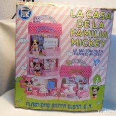 Casas de Muñecas: CASA DE LA FAMILIA MICKEY. Lote 183192355