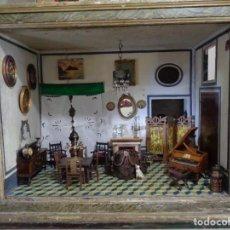 Casas de Muñecas: CASA DE MUÑECAS ANTIGUA SIGLO XVII-XVIII. Lote 183670523