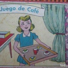 Casas de Muñecas: JUEGO DE CAFÉ CON 12 PIEZAS. CON CAJA ORIGINAL TAMAÑO 15X21 CM.. Lote 183696648