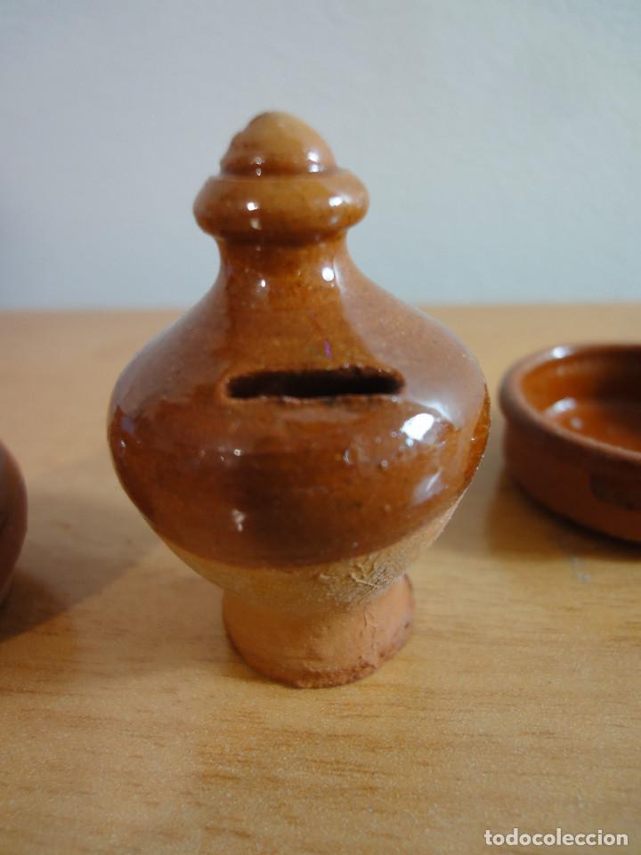 Casas de Muñecas: Antiguas Miniaturas de barro para Casa Muñecas o Portal de Belen - Foto 5 - 184298666