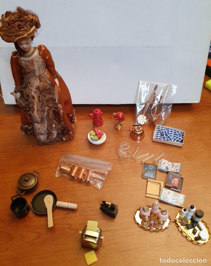 LIQUIDACION LOTE 18 - MUEBLES PARA CASITA DE MUÑECAS. ESC. 1:12 (Juguetes - Casas de Muñecas, mobiliarios y complementos)
