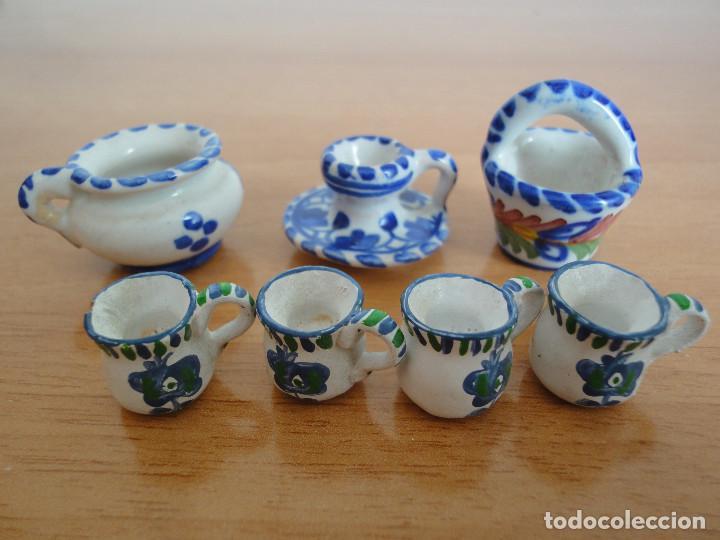 Casas de Muñecas: Miniaturas para casa de muñecas. Cerámica de Talavera + Regalo - Foto 2 - 184800897