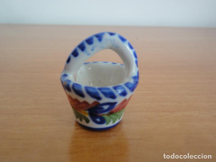 Casas de Muñecas: Miniaturas para casa de muñecas. Cerámica de Talavera + Regalo - Foto 3 - 184800897