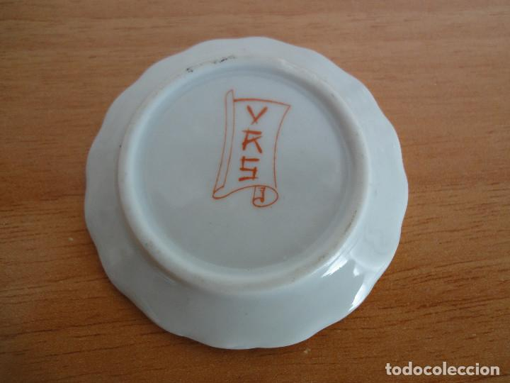 Casas de Muñecas: Bandejita miniatura de porcelana china + regalo - Foto 2 - 184801727