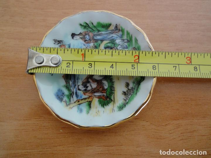 Casas de Muñecas: Bandejita miniatura de porcelana china + regalo - Foto 3 - 184801727
