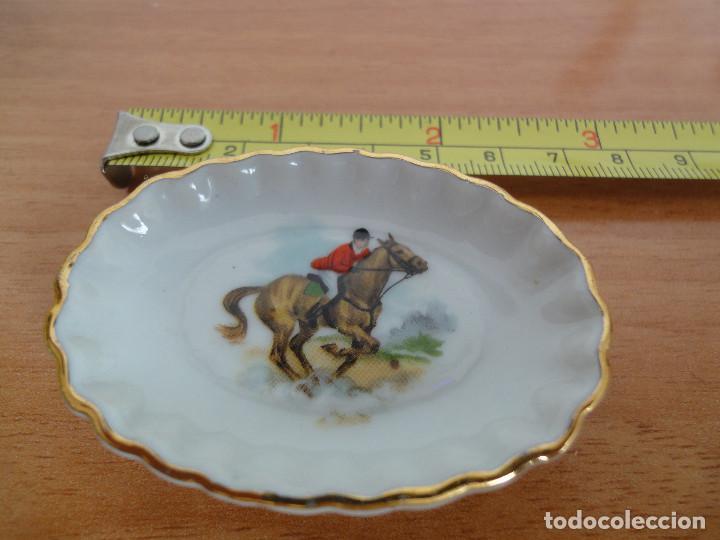 Casas de Muñecas: Bandejita miniatura de porcelana china + regalo - Foto 4 - 184801727