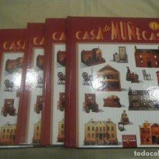 Casas de Muñecas: CASA DE MUÑECAS COLECCIÓN COMPLETA DE 6 TOMOS EDICIONES DEL PRADO. Lote 185745102