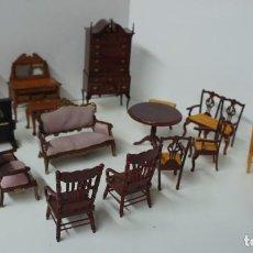 Maisons de Poupées: LOTE DE MUEBLES Y ACCESORIOS PARA CASA DE MUÑECAS.. Lote 185981598