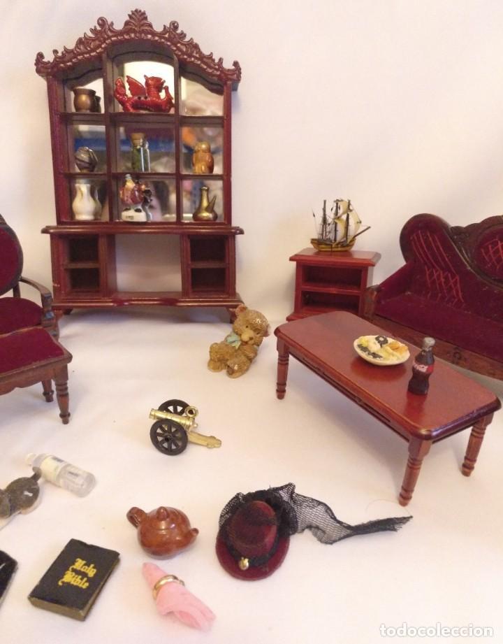 Casas de Muñecas: Muebles y complementos miniatura para casa de muñecas,escala 1:12 Lote 17 - Foto 4 - 186264103