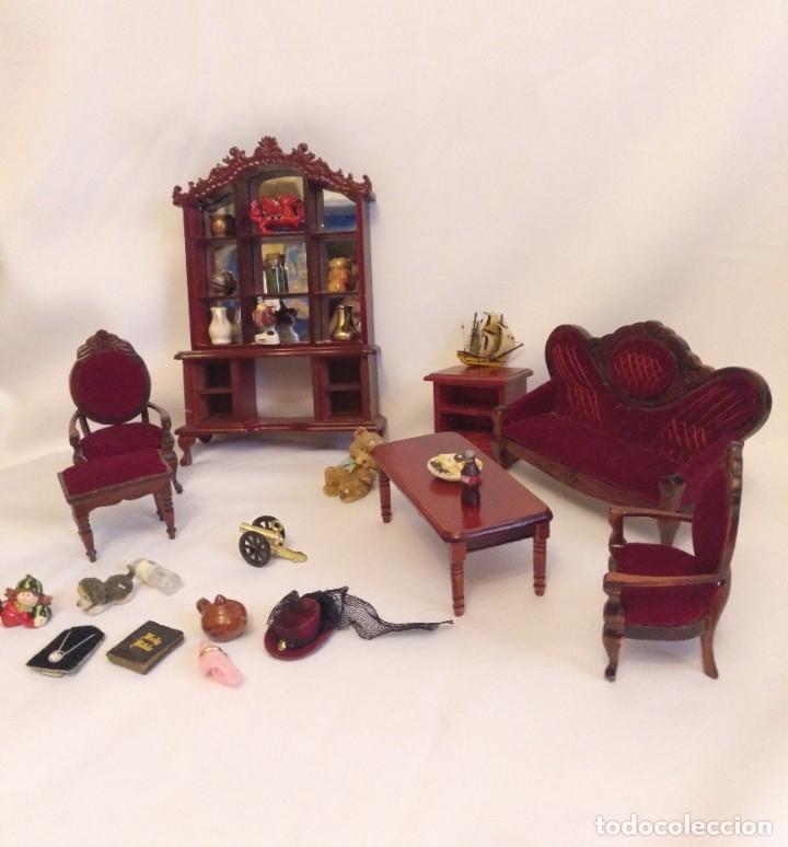 Casa de muñecas en miniatura de estilo antiguo espejo 1:12 Accesorios Streets Ahead d1835