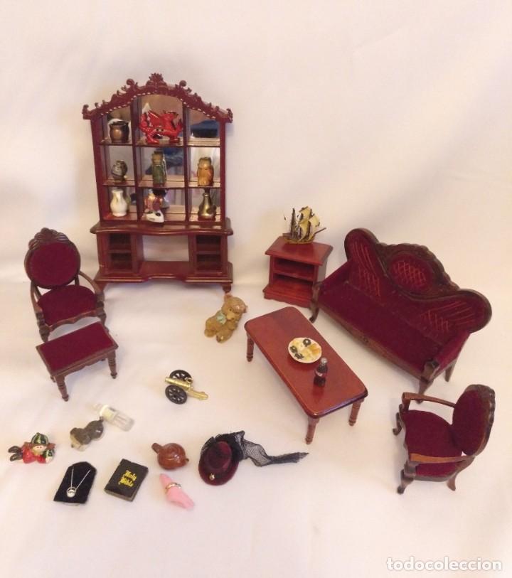 Casas de Muñecas: Muebles y complementos miniatura para casa de muñecas,escala 1:12 Lote 17 - Foto 7 - 186264103
