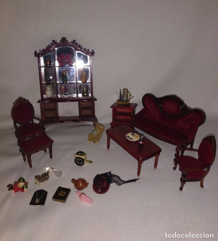 Casas de Muñecas: Muebles y complementos miniatura para casa de muñecas,escala 1:12 Lote 17 - Foto 9 - 186264103