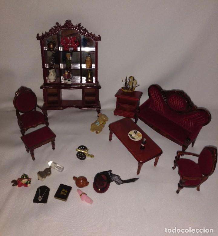 Casas de Muñecas: Muebles y complementos miniatura para casa de muñecas,escala 1:12 Lote 17 - Foto 11 - 186264103