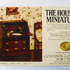 Case di Bambole: KIT CONSTRUCCIÓN ESCRITORIO CASAS DE MUÑECAS. Lote 186301781