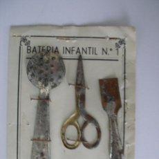 Casas de Muñecas: BATERÍA INFANTIL Nº 1 MAX - GUT LEÓN - 1941. Lote 37613242