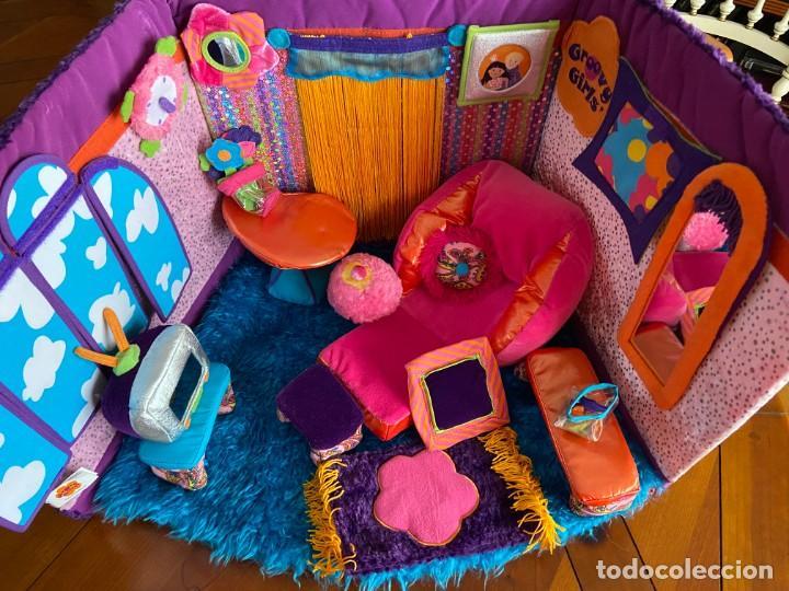 GROOVY GIRLS ATICO REVERSIBLE (Juguetes - Casas de Muñecas, mobiliarios y complementos)